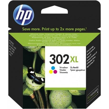 Cartridge HP 302 XL Color (F6U67A) - original