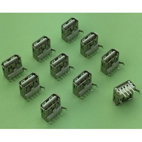 USB 2.0 4-pin Type A Female connector Socket G52