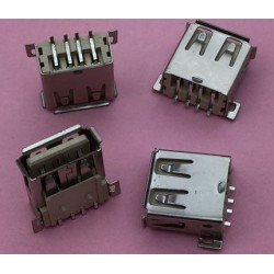 USB 2.0 4Pin A Type Female Socket konektor G53