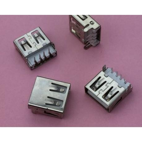 USB 2.0 4Pin A Type Female Socket konektor G54