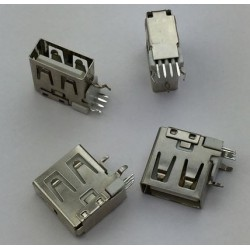 USB 2.0 4Pin A Type Female Socket konektor G59