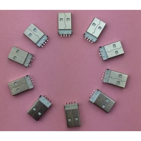 USB 2.0 4Pin A Type Male Plug konektor G48
