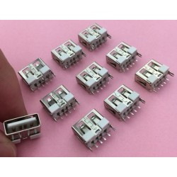 USB 2.0 4-pin Type A Female connector Socket G50