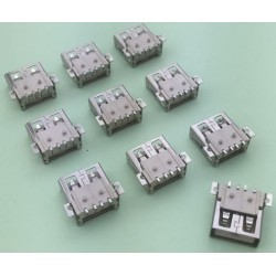 USB 2.0 4Pin A Type Female Socket konektor G51