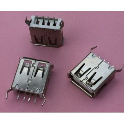 USB 2.0 4Pin A Type Female Socket Connector G55