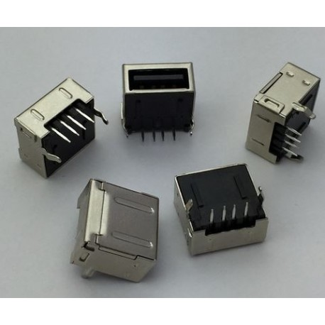 USB 2.0 4Pin A Type Female Socket Connector G57