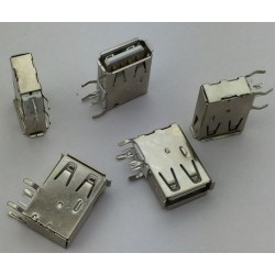 USB 2.0 4Pin A Type Female Socket Connector G58