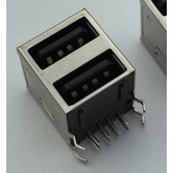 USB Type A Female Socket connector 2 in 1 G43
