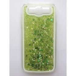 Přesýpací zadní kryt telefonu Samsung Galaxy S3 i9300 - Zelená