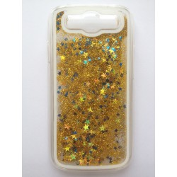 Hourglass back cover of your Samsung Galaxy S3 i9300 - Gold / Blue