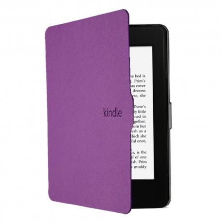 Case for Kindle book reader 7th generation 2014 - purple
