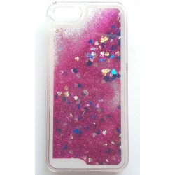 Apple iPhone 5 5G 5S - Sand back cover - Dark pink