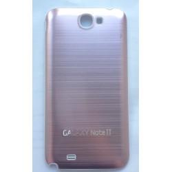 Samsung Galaxy Note 2 N7100 - Rear cover - Aluminium - Light pink / White