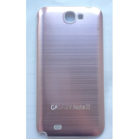 Samsung Galaxy Note 2 N7100 - Rear cover - Aluminium - Light pink / White