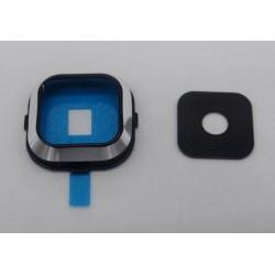 Samsung Galaxy A7 - Kryt, sklo kamery, fotoaparátu - Černá