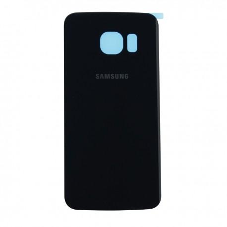 The rear battery cover Samsung Galaxy S6 G9250, G925, G925F - dark blue
