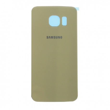 The rear battery cover Samsung Galaxy S6 G9250, G925, G925F - Gold