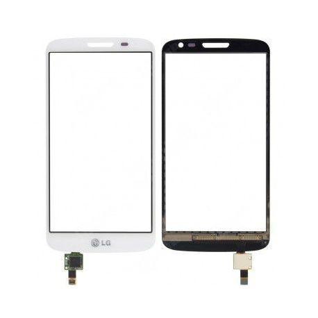 LG D618 D620 D621 D625 G2 Mini - Bílá dotyková vrstva, dotykové sklo, dotyková deska + flex