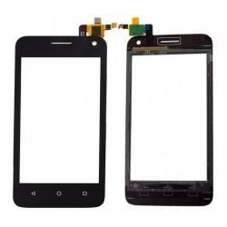 Huawei Y3 Y360 Y336 - černá dotyková vrstva, dotykové sklo, dotyková deska + flex