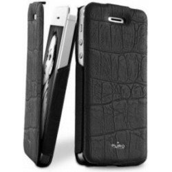 Housing Puro Crocodile for iPhone 5 / 5S - Black