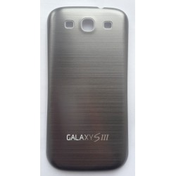 Samsung Galaxy S3 I9300 - The rear battery cover - Aluminium - dark gray