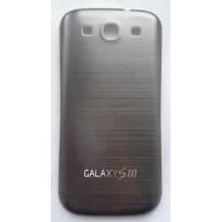 Samsung Galaxy S3 i9300 - Zadní kryt baterie - Hliník - Tmavě šedý