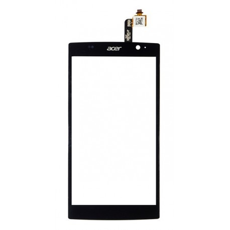 Acer Liquid Z500 - Black touch layer touch glass touch panel + flex