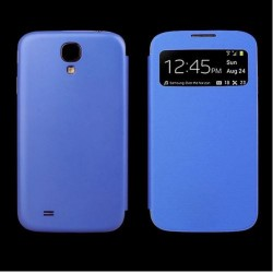 Flip S-View Samsung Galaxy S4 Mini i9190 - Blue