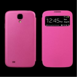 Flip S-View Samsung Galaxy S4 Mini i9190 - Růžová