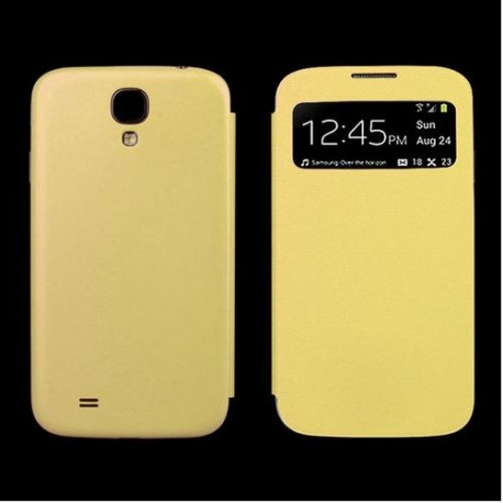Flip S-View Samsung Galaxy S4 Mini i9190 - Yellow