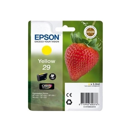 Cartridge Epson T2984 - yellow - original