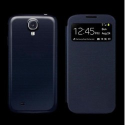 Flip S-View Samsung Galaxy S4 Mini i9190 - Dark blue