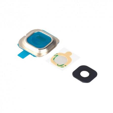 Samsung S6 Edge G9250 G925 - Kryt, sklo kamery, fotoaparátu - zlatá