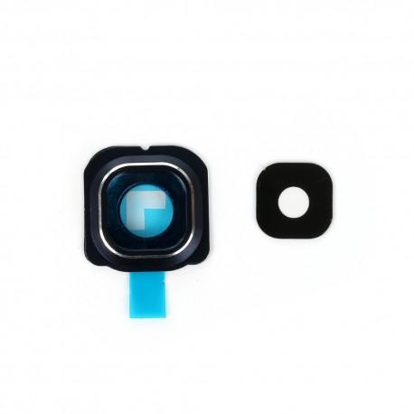 Samsung S6 Edge G9250 G925 - Kryt, sklo kamery, fotoaparátu - modrá