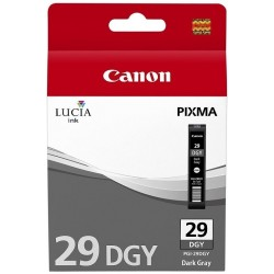 Canon PGI-29 DGY - tmavě šedá - originální cartridge