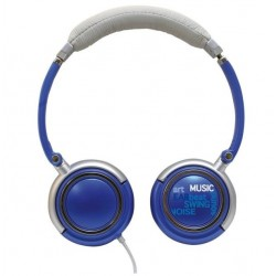 Headphones Roadstar Hed - 120F, blue
