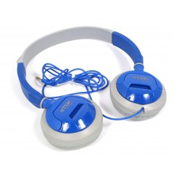 TDK ST100 headphones, blue
