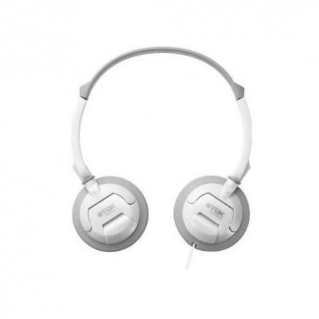 TDK ST100 headphones, white