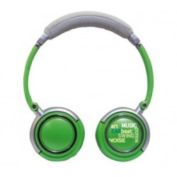 Headphones Roadstar Hed - 120F, green