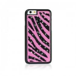 "Zadný kryt Ayano Glam! Zebra Pink iPhone 6, 4,7"""