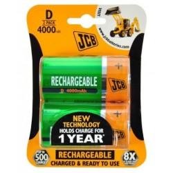 Batéria JCB NiMH D 4000mAh 2 ks - blister