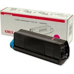 Toner OKI C3100 - červená - originálne