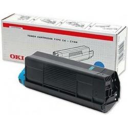 Toner OKI C3100 - modrá - originální