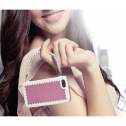 Women Joy Case for iPhone 5 - Pink