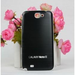 Samsung Galaxy Note 2 N7100 - Zadní kryt baterie - Hliník - Černá / bílá