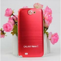 Samsung Galaxy Note 2 N7100 - Rear cover - Aluminium - Red / white