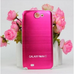 Samsung Galaxy Note 2 N7100 - Rear cover - Aluminium - Pink / white