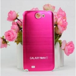 Samsung Galaxy Note 2 N7100 - Zadní kryt baterie - Hliník - Růžová / bílá