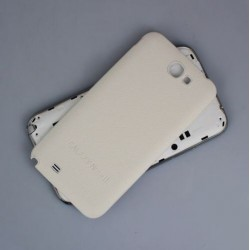 Samsung Galaxy Note 2 N7100 - Rear cover - White / white