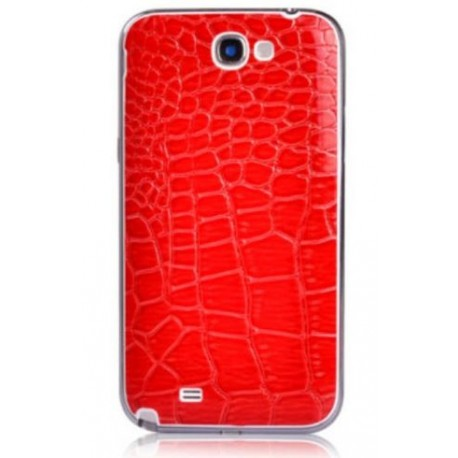 Samsung Galaxy Note 2 N7100 - Rear cover - Red / white